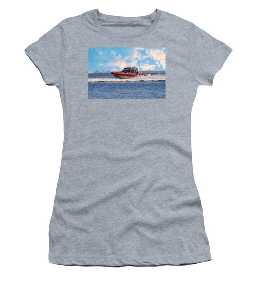 Protecting Our Waters - Coast Guard Women's T-Shirt