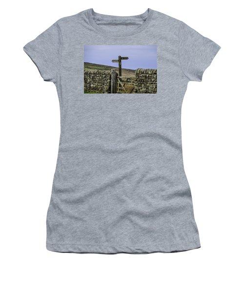 Public Bridleway Women's T-Shirt