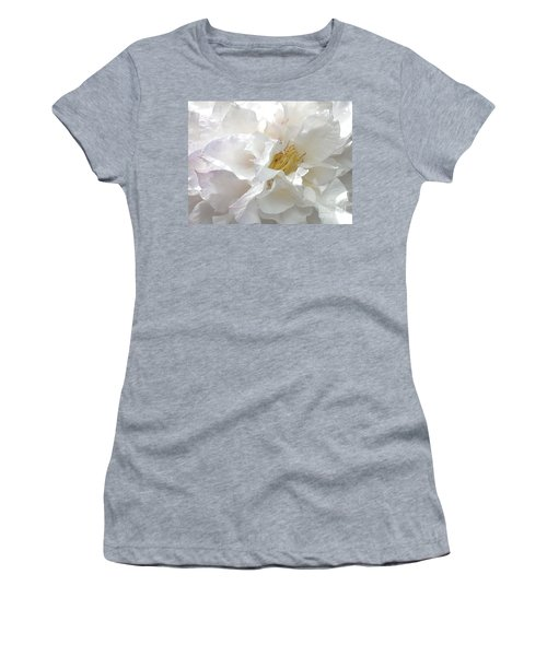 Pure White Women's T-Shirt (Athletic Fit)