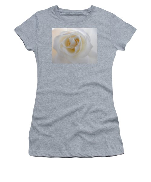Women's T-Shirt (Junior Cut) featuring the photograph Purity by Deb Halloran