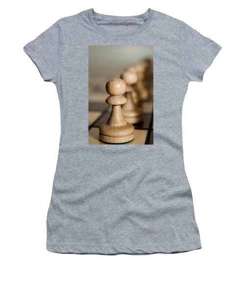 Pawns Women's T-Shirt (Athletic Fit)
