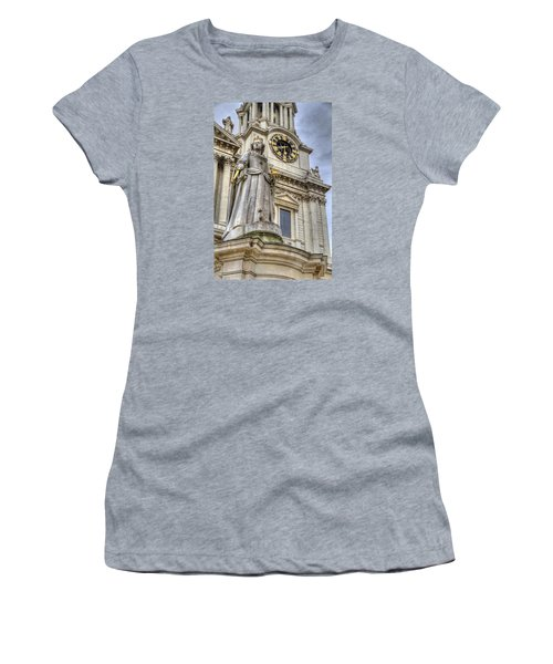 Queen Anne Statue Women's T-Shirt (Athletic Fit)