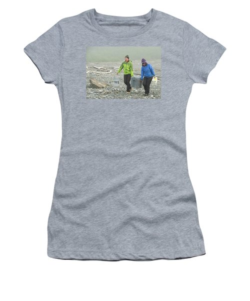 Rafters Carrying Portible Toilet, Alsek Women's T-Shirt