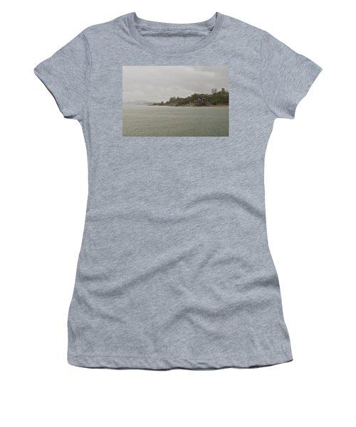 Rain Of Tartan Colours Women's T-Shirt