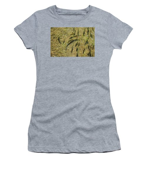 Rainbow Trout Art Prints Fish Fishing Fishermen Women's T-Shirt