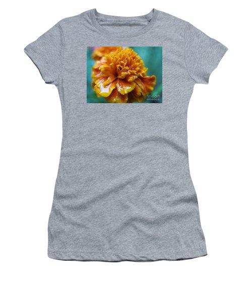 Rainy Marigolds Women's T-Shirt