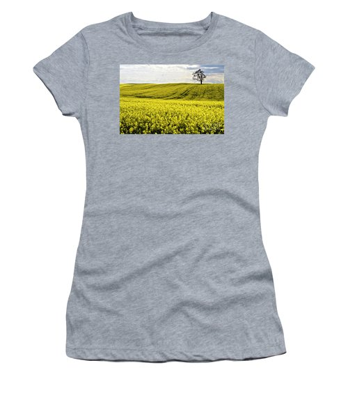 Rape Landscape With Lonely Tree Women's T-Shirt (Athletic Fit)