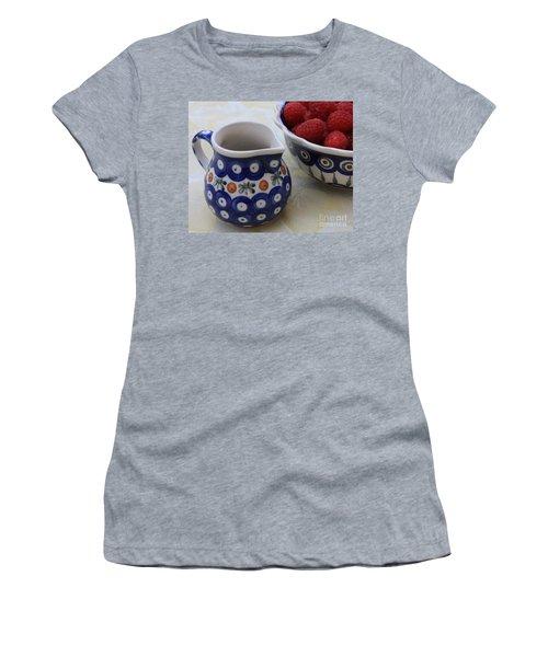Raspberries With Cream Women's T-Shirt
