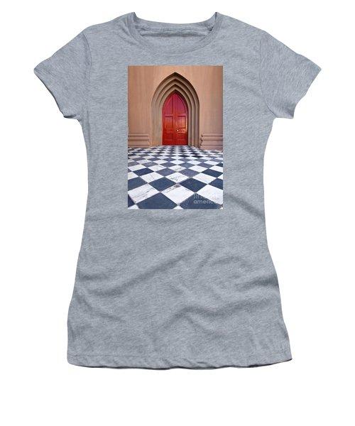 Red Door - D001859 Women's T-Shirt (Athletic Fit)