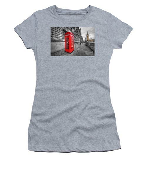 Red Phone Box And Big Ben Women's T-Shirt