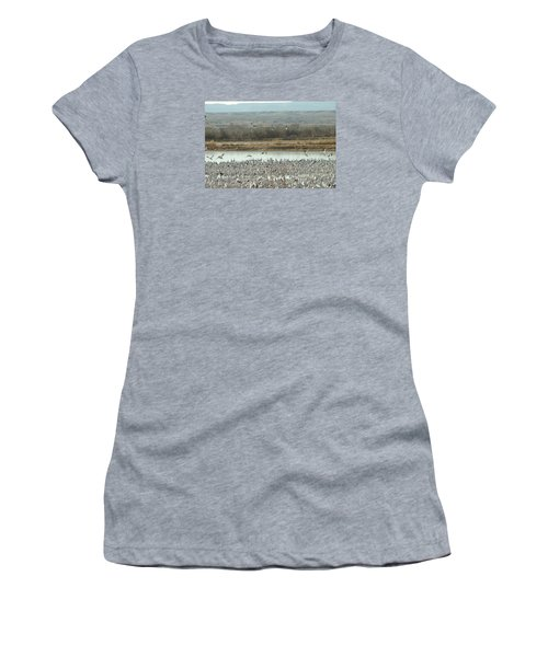 Refuge View  Women's T-Shirt (Athletic Fit)