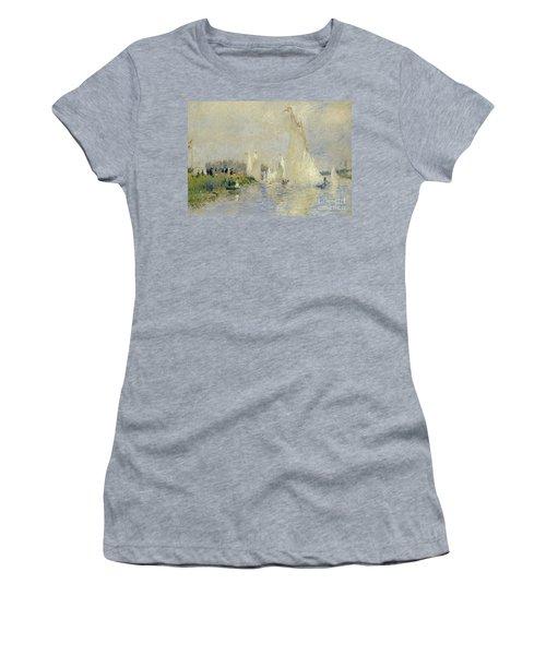 Regatta At Argenteuil Women's T-Shirt