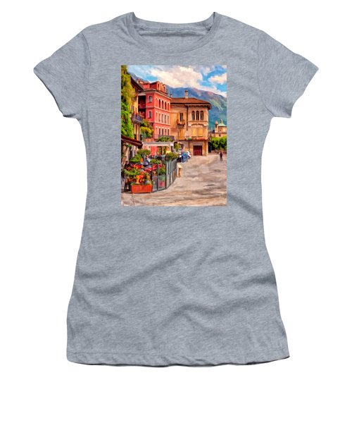 Relaxing In Baveno Women's T-Shirt (Athletic Fit)