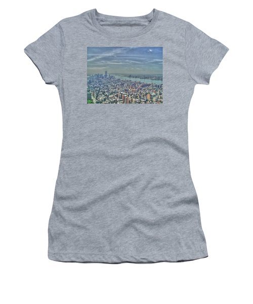 New York Remembering 9/11 Women's T-Shirt (Athletic Fit)