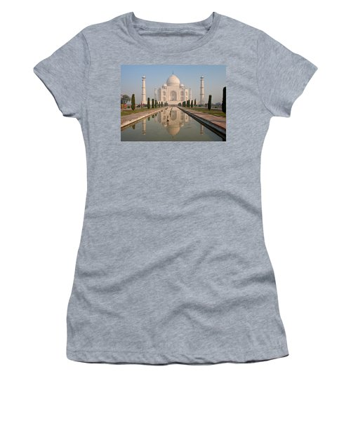 Resplendent Taj Mahal Women's T-Shirt (Athletic Fit)