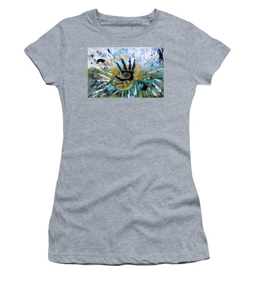 Rhythm Of Life Women's T-Shirt (Athletic Fit)