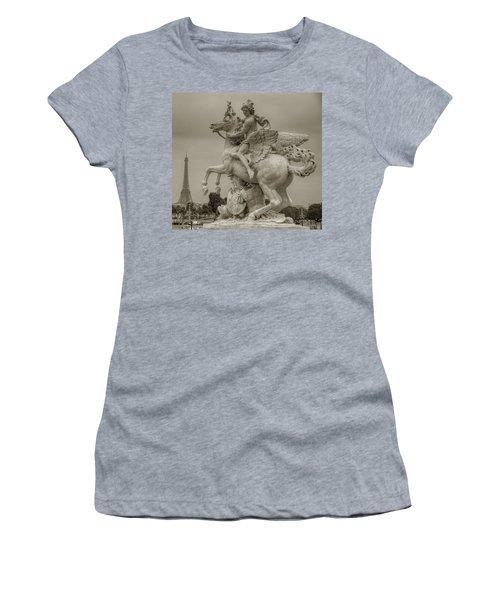 Riding Pegasis Women's T-Shirt