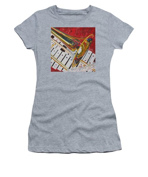 Ringing In The Brass Women's T-Shirt (Athletic Fit)
