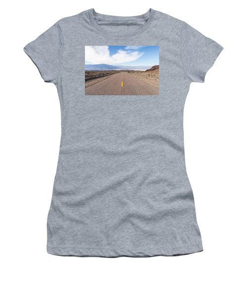 Road To Death Valley Women's T-Shirt (Athletic Fit)