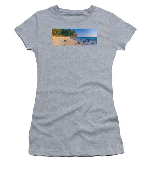 Rocks On The Beach, Phi Phi Islands Women's T-Shirt