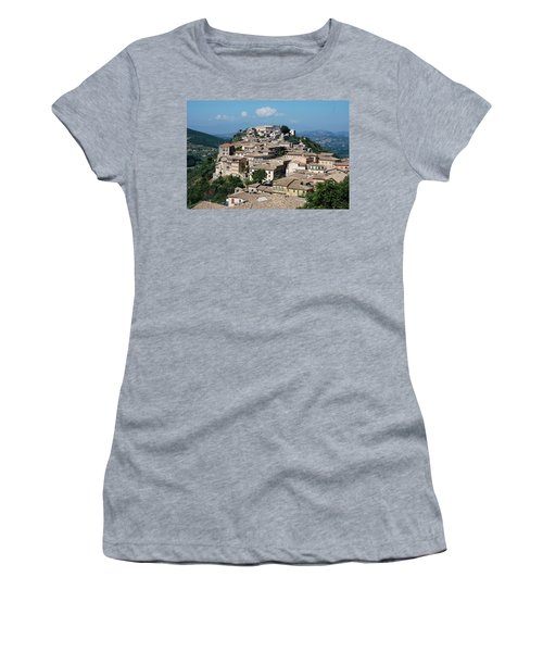 Rooftops Of The Italian City Women's T-Shirt (Athletic Fit)