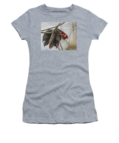 Rosary Pea Women's T-Shirt (Athletic Fit)