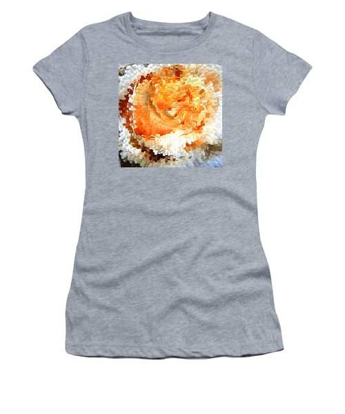 Rose In Bloom Women's T-Shirt (Athletic Fit)