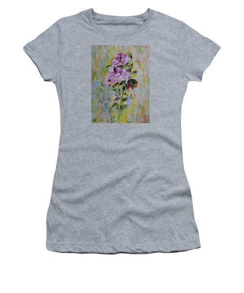 Roses Women's T-Shirt (Athletic Fit)