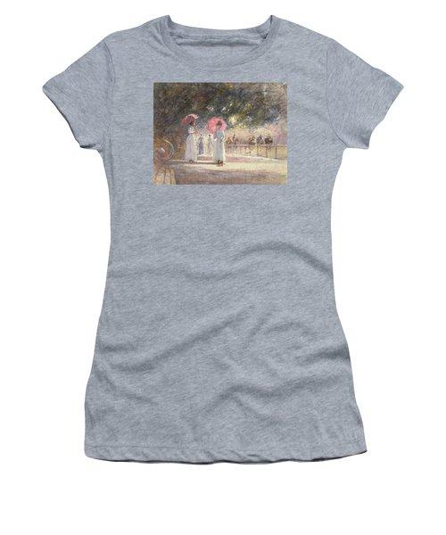Rotten Row Women's T-Shirt (Junior Cut) by Harry Fidler