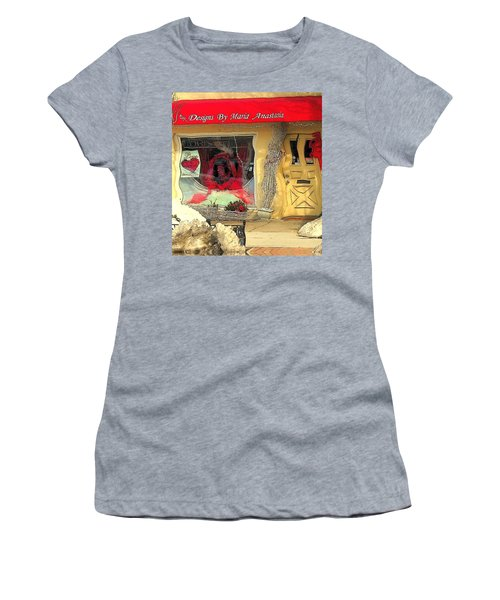 Rouge On The Rue Women's T-Shirt (Athletic Fit)