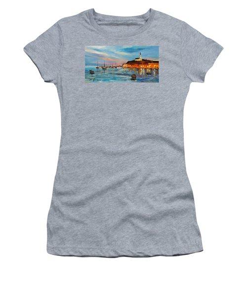 Rovanij Harbour Women's T-Shirt (Athletic Fit)