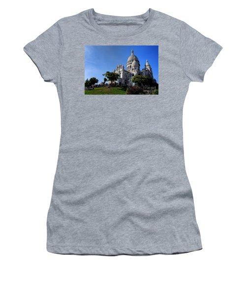 Sacre Coeur On Butte Montmartre Women's T-Shirt
