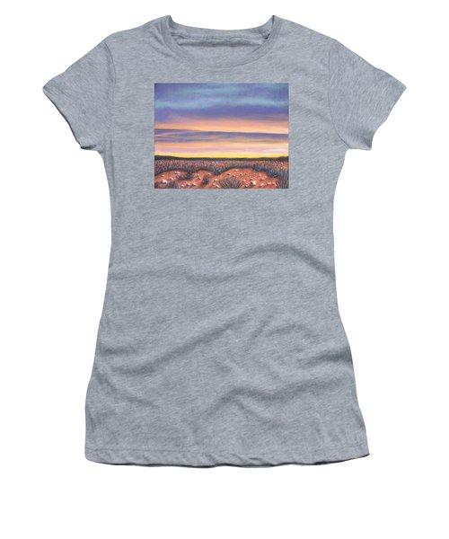 Sagebrush Sunset A Women's T-Shirt