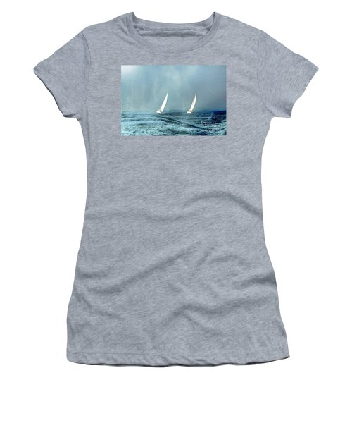 Sailing Into The Unknown Women's T-Shirt
