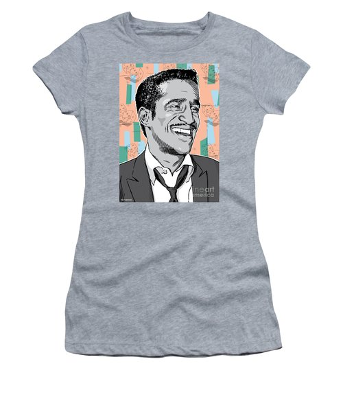 Sammy Davis Jr Pop Art Women's T-Shirt (Athletic Fit)