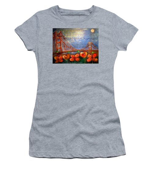 San Francisco Poppies For Lls Women's T-Shirt