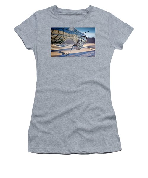 Sand Incarnations With Dali Women's T-Shirt (Athletic Fit)