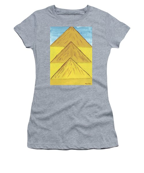 Sand Mountains Women's T-Shirt (Athletic Fit)