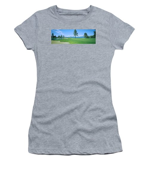 Sand Trap In A Golf Course, Edgewood Women's T-Shirt