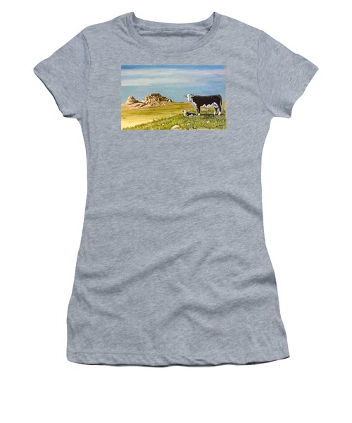 Sandhills Spring Women's T-Shirt (Athletic Fit)