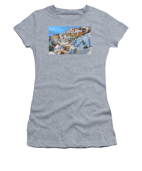 Santorini A Colori Women's T-Shirt