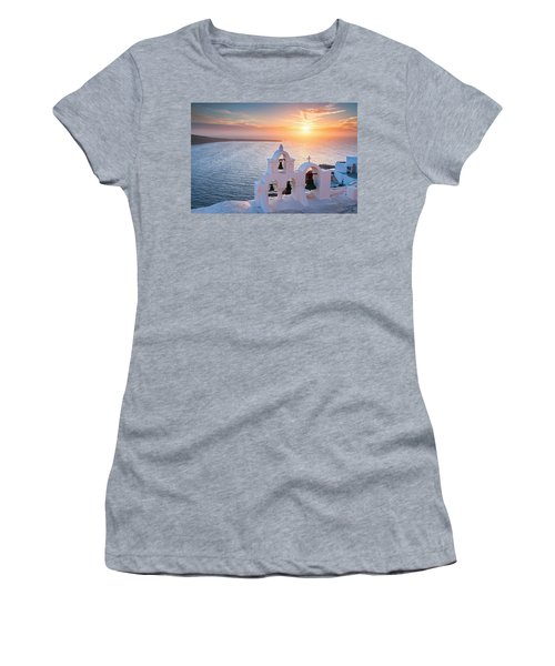 Santorini Sunset Women's T-Shirt