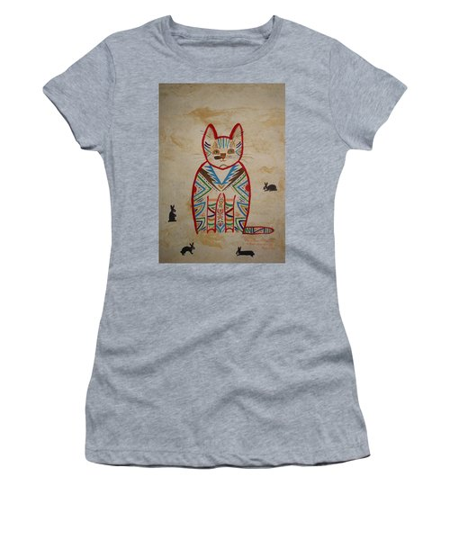 Sarah's Cat Women's T-Shirt (Athletic Fit)