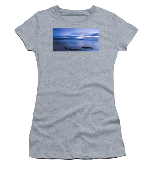 Scripps Pier Twilight - Color Women's T-Shirt
