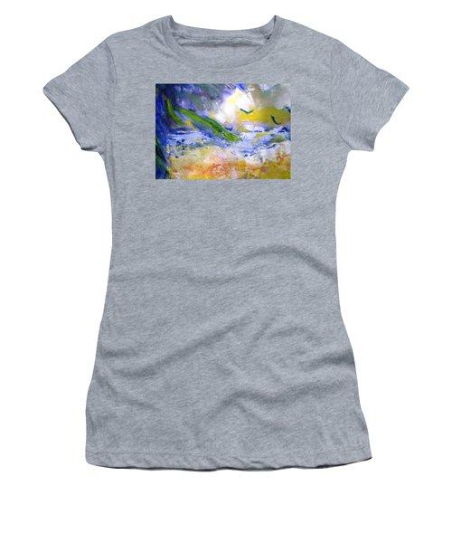 Seashore Windy Days Women's T-Shirt