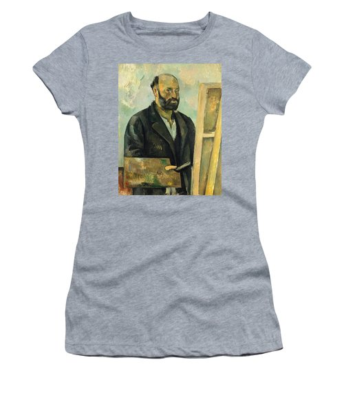 Self Portrait With Palette Women's T-Shirt
