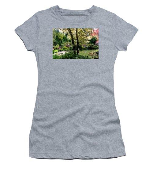Serene Garden Retreat Women's T-Shirt