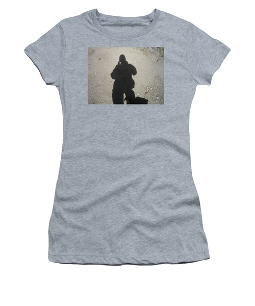 Shadow In Afghanistan  Women's T-Shirt (Athletic Fit)