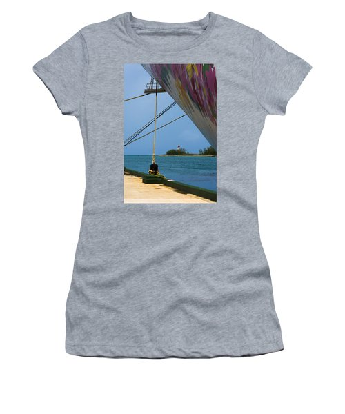 Ship's Ropes And Lighthouse Women's T-Shirt