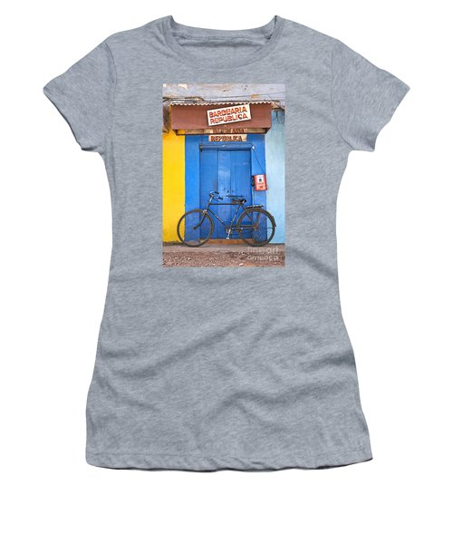 Shop On Street In Goa India Women's T-Shirt (Athletic Fit)